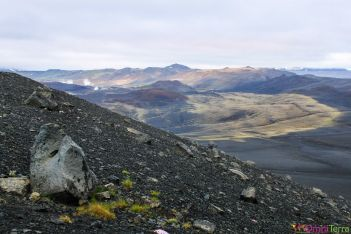 Islande - Lac Myvatn - cratère Hverfjall panorama