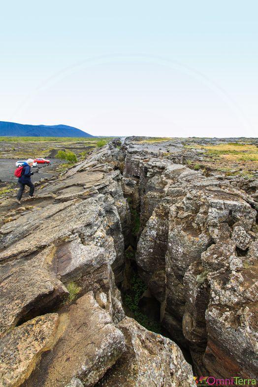 Islande - Lac Myvatn - faille Grjótagjá