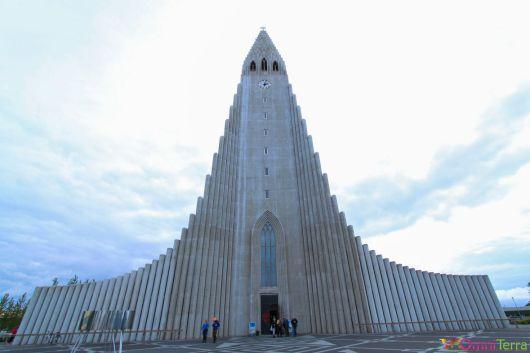Islande - Reykjavik - Église