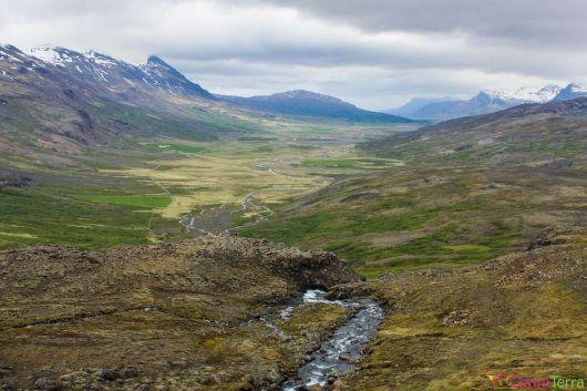 Islande - Route vers Hengifoss - Vallées
