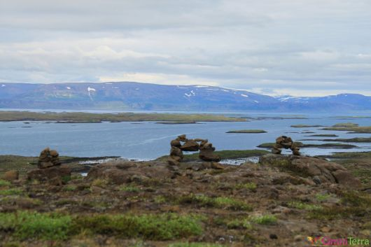 Islande - Route vers Parc national Snaefellsjokull - Panorama
