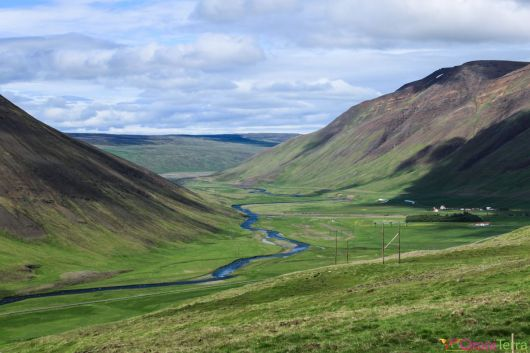 Islande - Route vers l'ouest - Panorama
