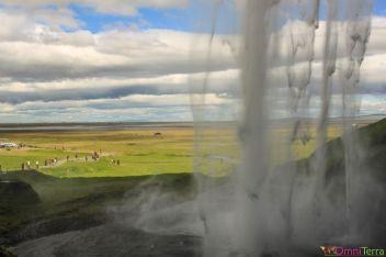 Islande - Seljandsfoss - Derriere la Cascade