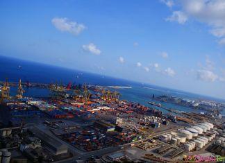 Port Industriel Barcelone