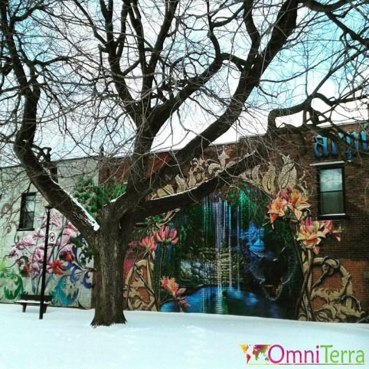 Montreal Street-Art - Mural Parc petite bourgogne