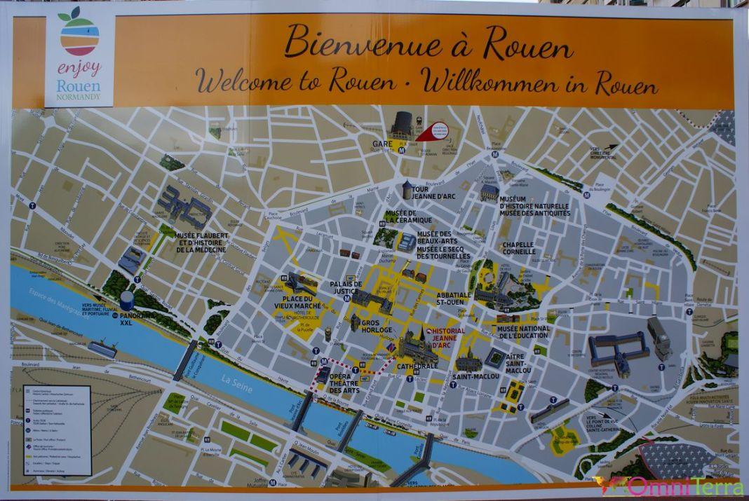 Rouen-Plan-touristique