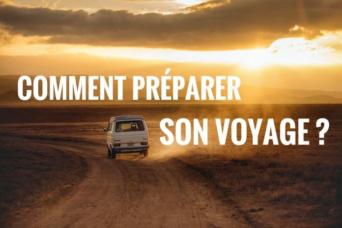 comment preparer son voyage