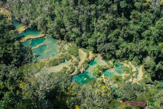 Guatemala - Semuc Champey - Panorama