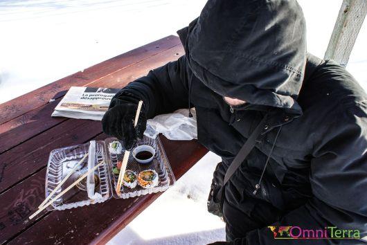 Quebec - Pique-nique hivernal