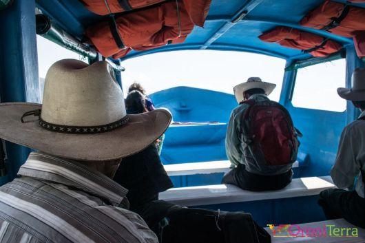 Guatemala - Atitlan - lancha