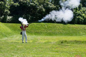 Fort Lennox-démo de tir