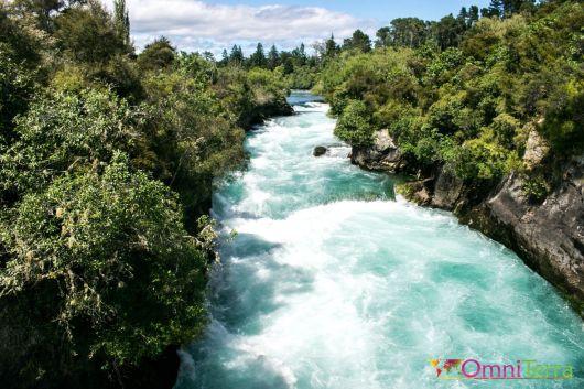 Nouvelle Zelande - Taupo-Chutes Huka