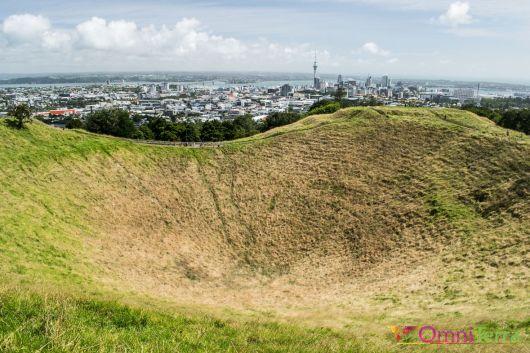 Nouvelle Zélande - Auckland - Mont Eden