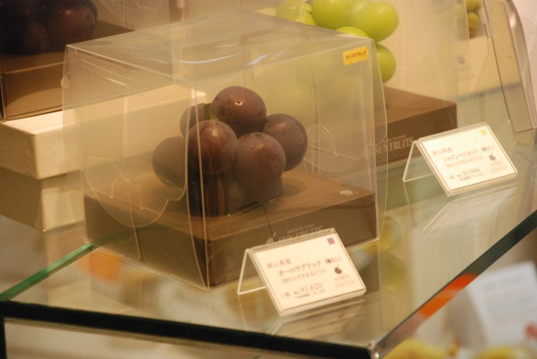 Om Nom Nomad - luxury grapes