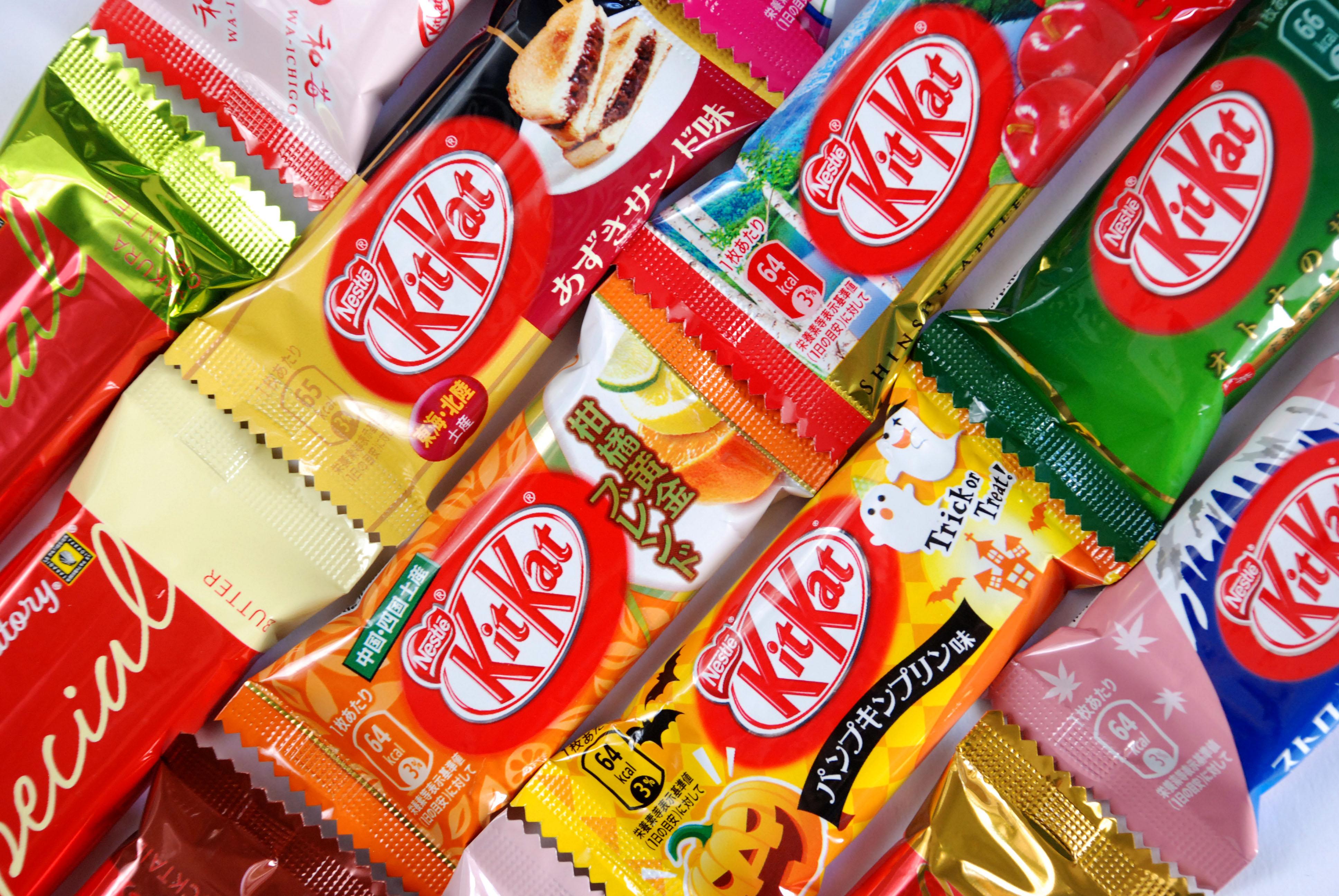 Tasting 17 japanese kit kat flavors om nom nomad om nom nomad japanese kit kat voltagebd Gallery