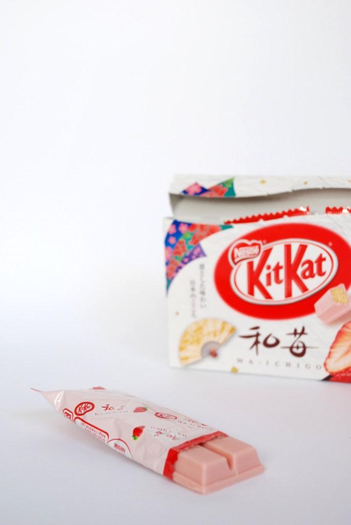 Om Nom Nomad - Wa-Ichigo - Japanese Strawberry Kit Kat