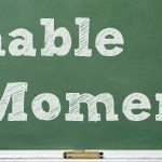 Teachable Moment Lost