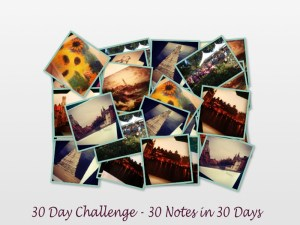 30 Notes in 30 Days