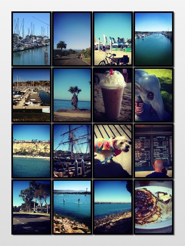 Walk photo collage