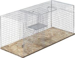 Råttbur Fix grå
