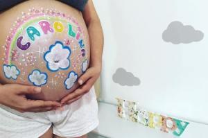 Belly Painting O Mundo da Zingarela®