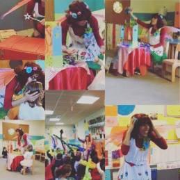 O Mundo da Zingarela® - Animação Infantil Escola Voar Mais Alto Maria 4 anos