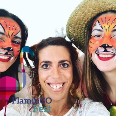 O Mundo da Zingarela - Animação Infantil - FlaminGOFest 2017 Espaço Criança - Zingarela e as Tigresas - Pinturas Faciais