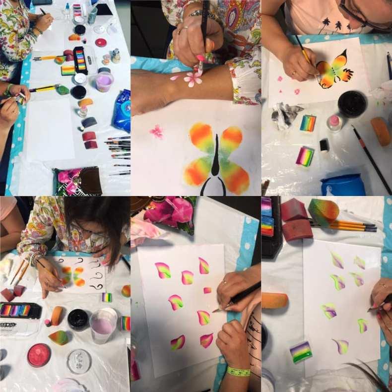 Workshop de Pinturas Faciais