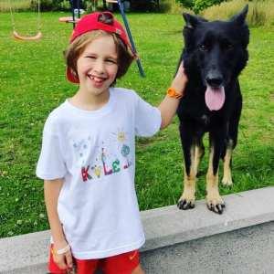 Tshirts para Criança - O Mundo da Zingarela - Kyle