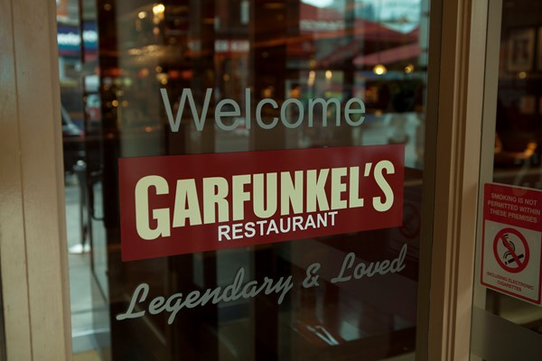 Welcome to Garfunkel's!
