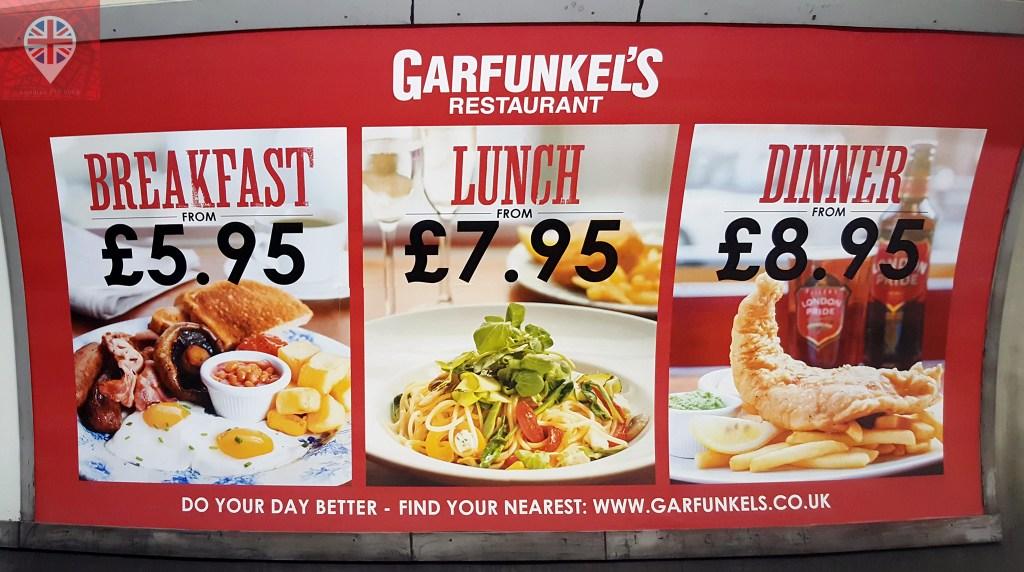 É possível comer bem e barato em Londres, sim!