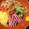 「冷やし中華はじめました」のぼりを大牟田のお店で見付けて食べてきました【厨房 晴れ×晴れ】
