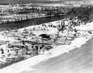 Miami Beach Hurricane Damage 1926