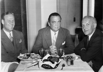 J. Edgar Hoover and Walter Winchell