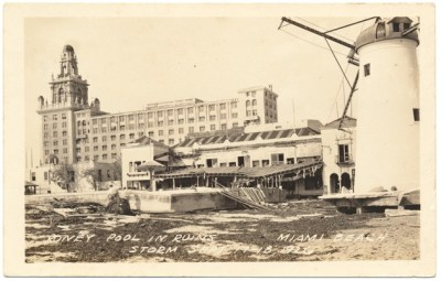 1926 Hurricane Hotel Damage
