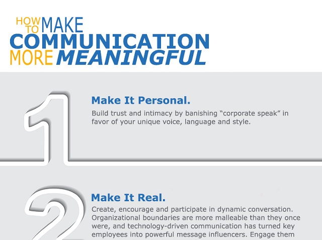 Four Tips for More Meaningful Communication