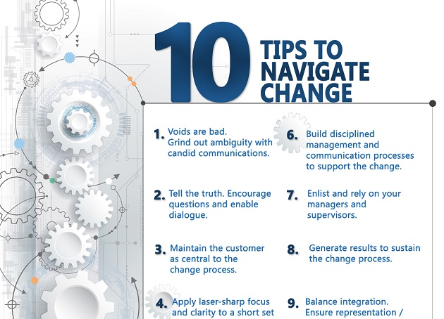 10 Tips to Effectively Navigate Change