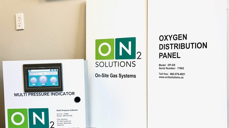 The MPI partners with the DP to provide a complete Oxygen Distribution System