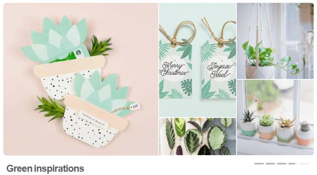 Pinterest green inspiration
