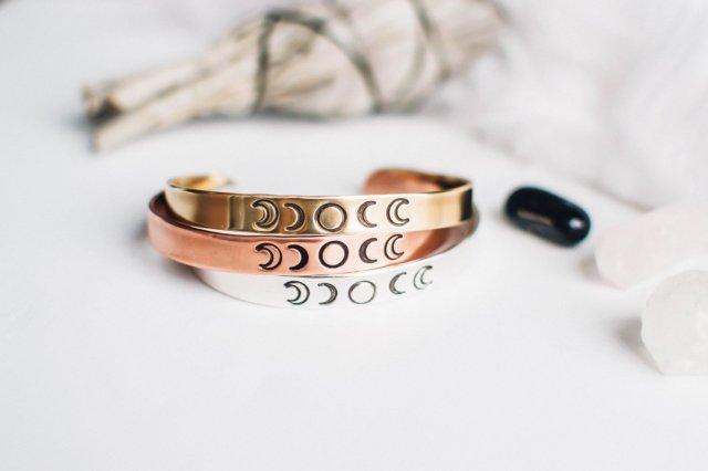 Bracelet phases de lune - ZennedOut