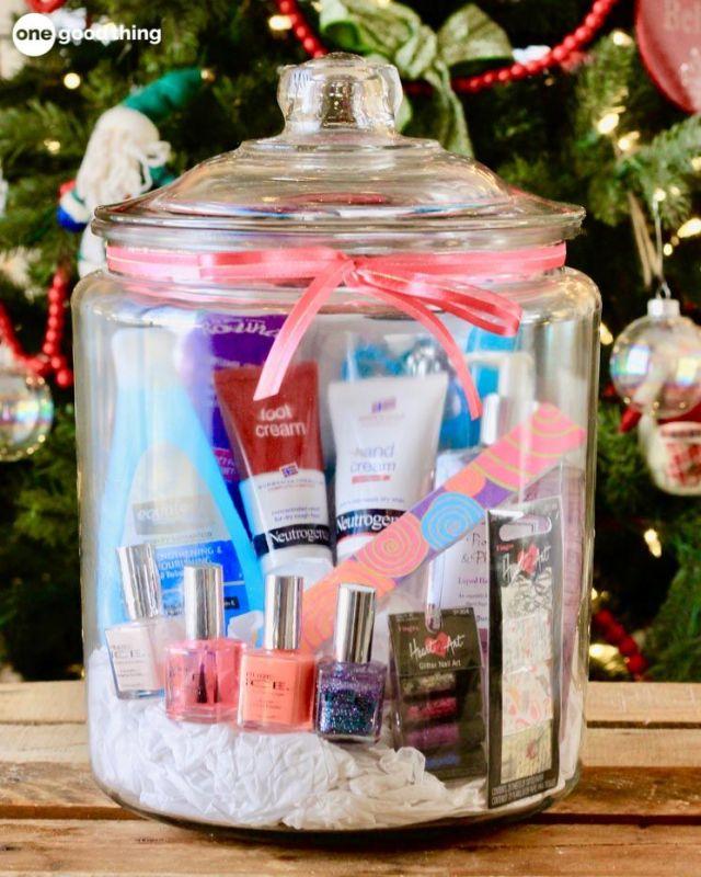 Bocal cadeaux, paquet cadeau, emballage cadeau, bocaux de Noël, bocal surprise, DIY
