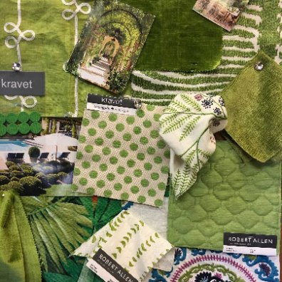 Greenery fabrics 1