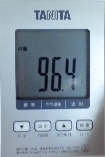 おはようございます。本日の体重日記