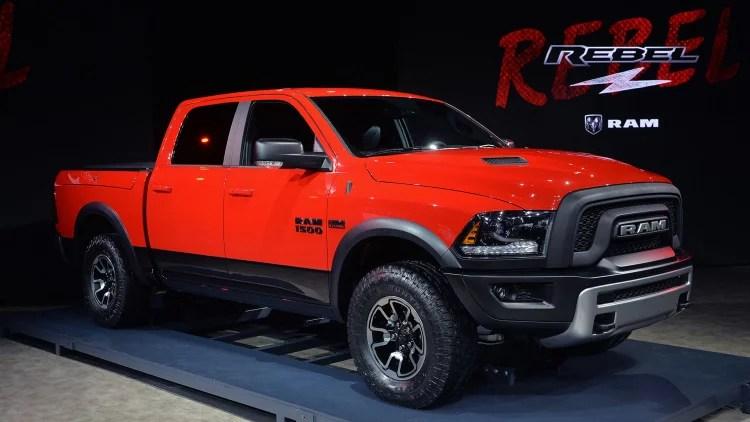RAM Rebel And RAM 1500 EcoDiesel Make Debut In Detroit