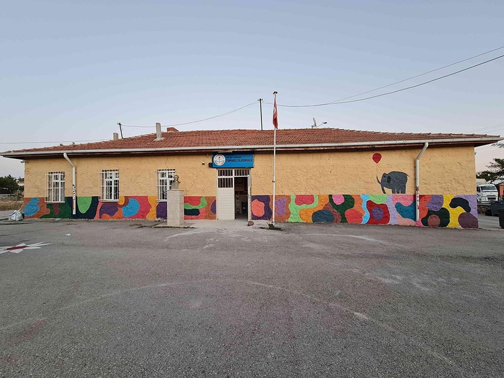 Ankara'daki Bir Köy Okulunu Onardık - 01