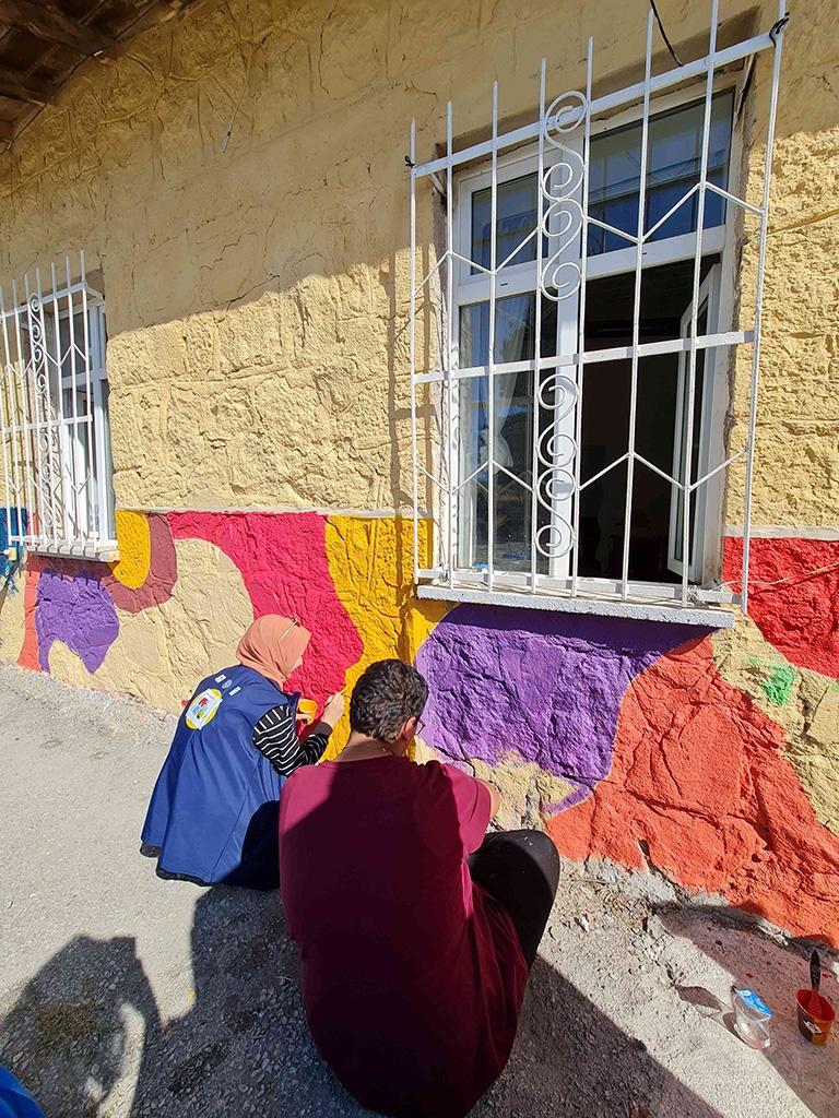 Ankara'daki Bir Köy Okulunu Onardık - 03