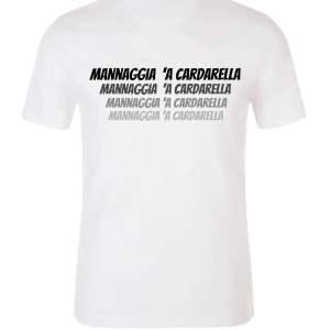 T-shirt Mannaggia 'a cardarella White