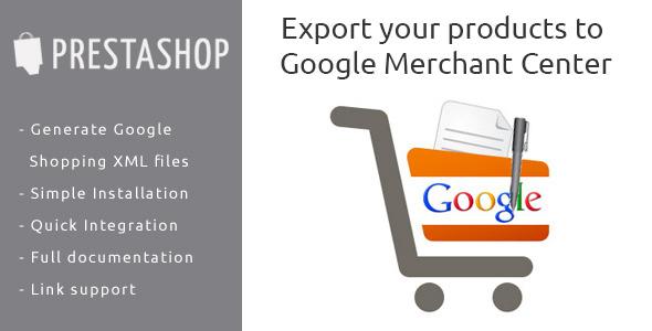 Prestashop-module-Google-merchant
