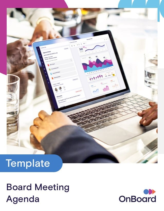 Use this template to set an agenda for a meeting of a governing body. Free Board Meeting Agenda Template Download Meeting Template