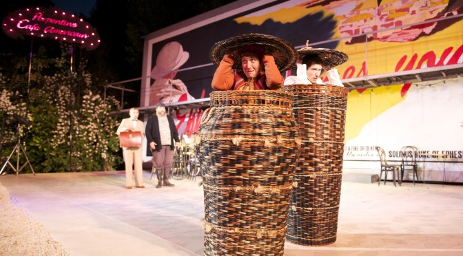 """The Comedy of Errors"" at Regent's Park Open Air Theatre"
